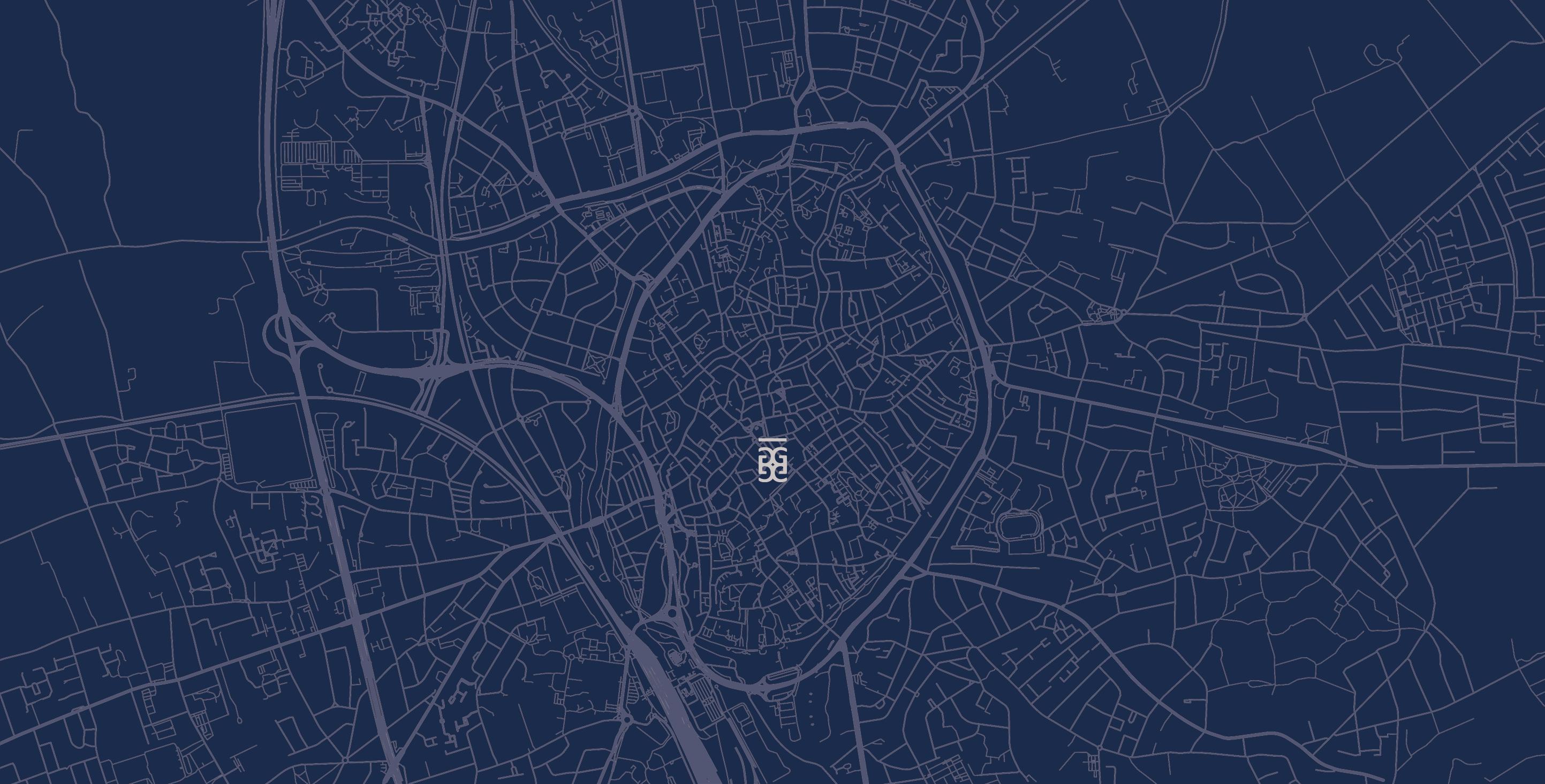 Grondplan Brugge De Gilde
